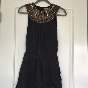 Urban Outfitters Beaded Romper